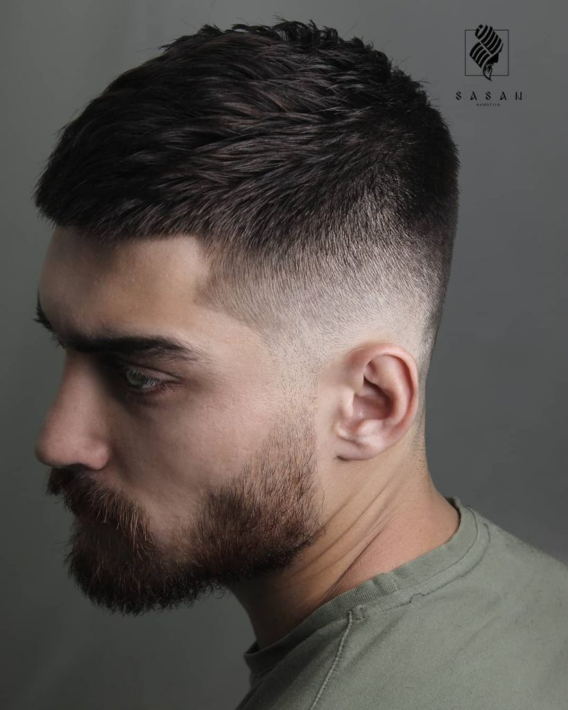 40 Cool Haircuts For Young Men Best Men S Hairstyles 2019 Short Haircut For Men With Beard Young Men Haircuts Mens Haircuts Short Mens Hairstyles Short