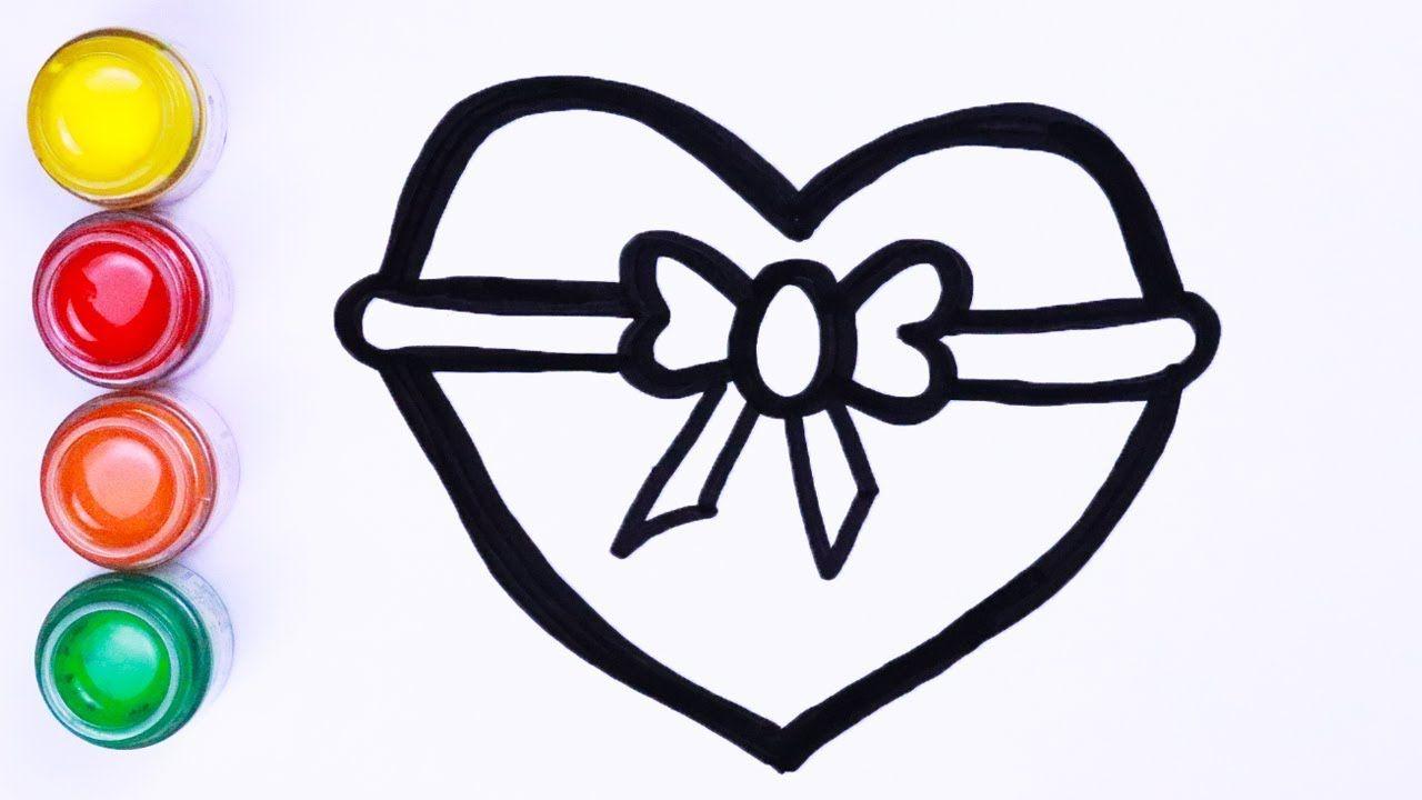 Menggambar Dan Mewarnai Heart Cara Menggambar Lukisan Warna