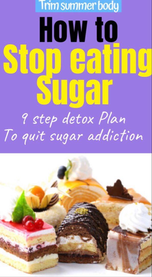 Photo of Zuckerabhängigkeit beenden -9 Schritte Entgiftungsplan, um den Verzehr von Zucker in 10 Tagen einzustellen.