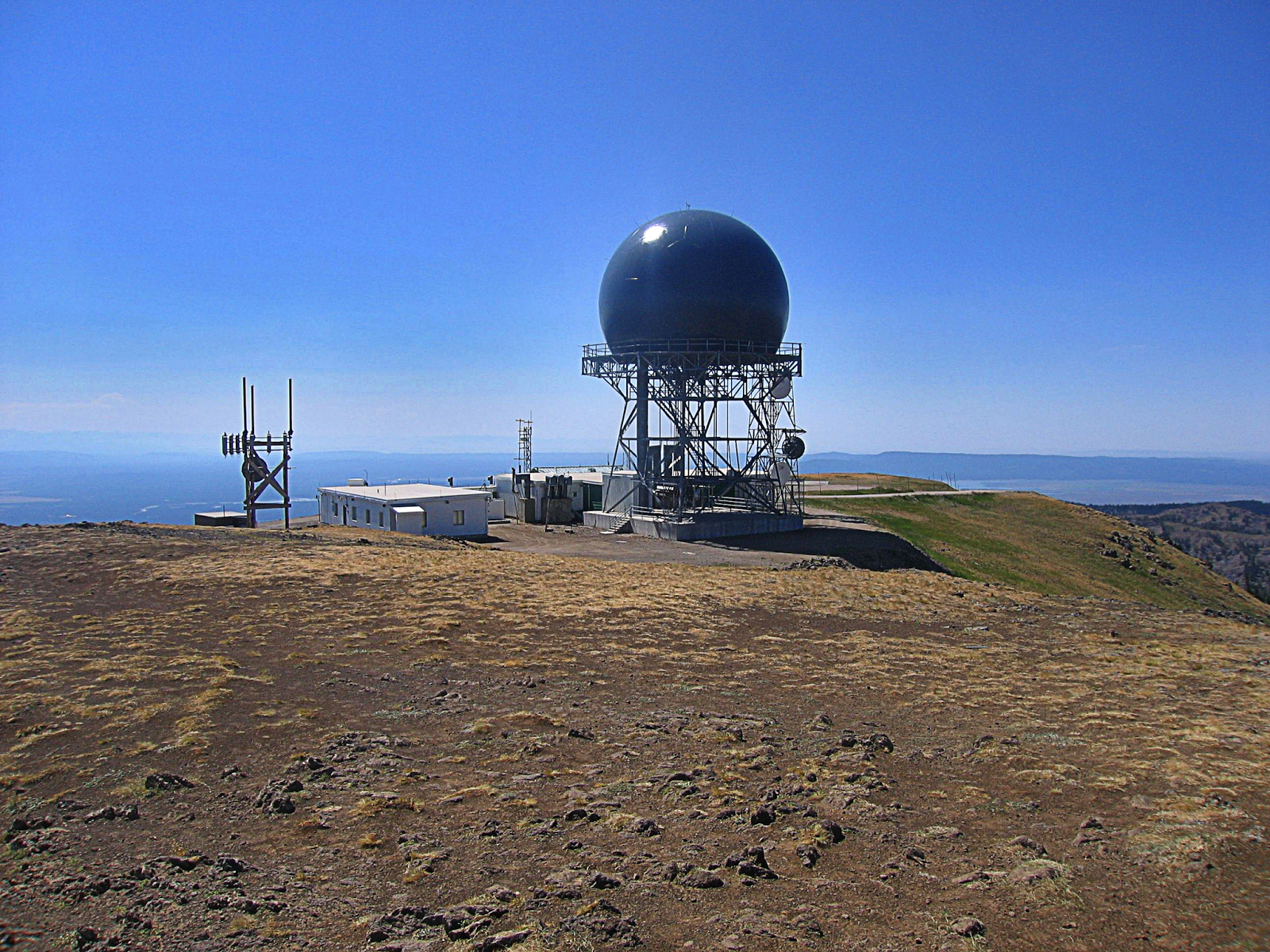 Sawtelle Peak Faa Radar Dome Island Park Idaho By