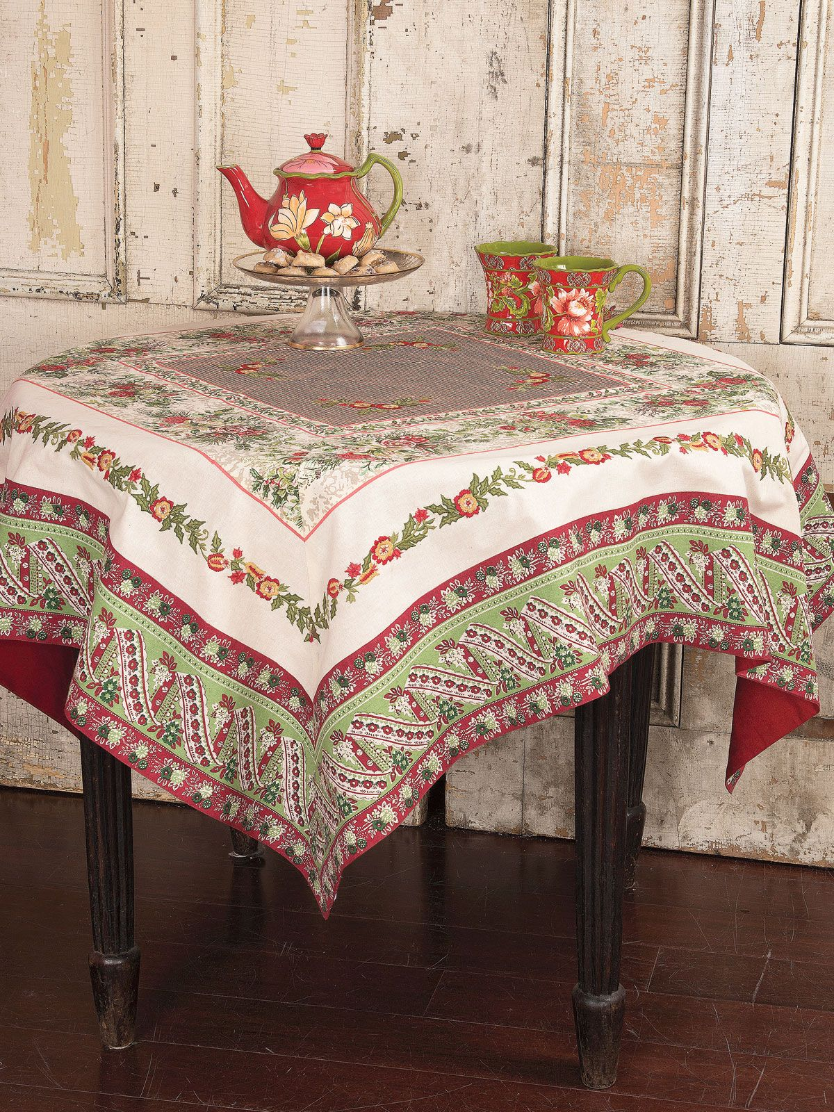 Tremendous Joyful Patchwork Tablecloth In 2019 For The Home Table Download Free Architecture Designs Terchretrmadebymaigaardcom