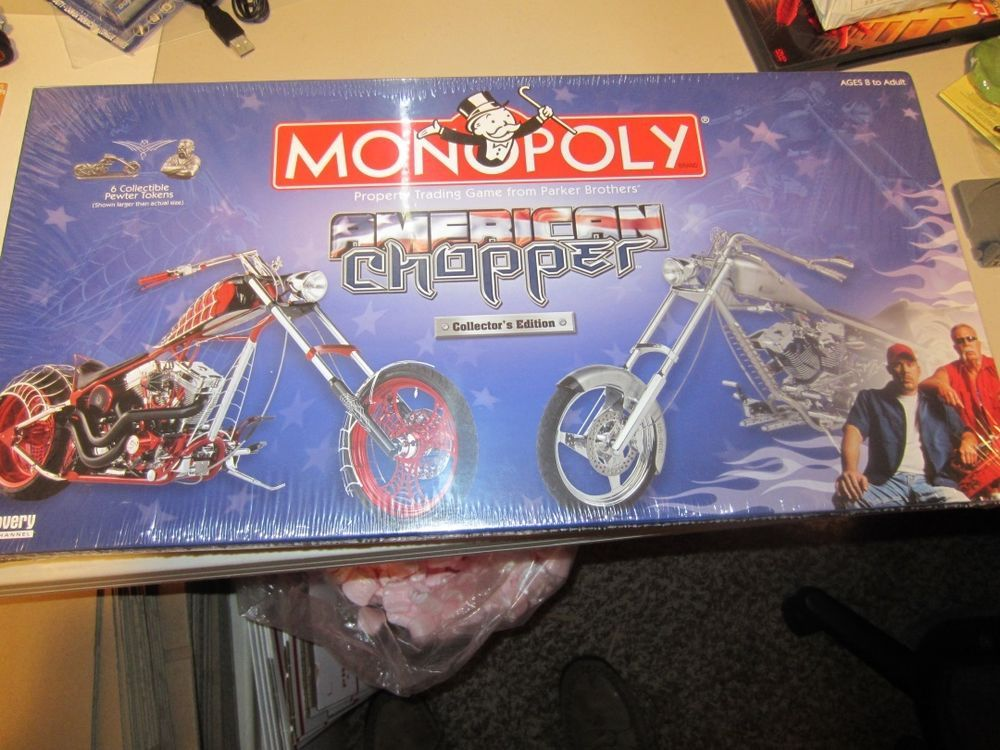 BRAND NEW SEALED Monopoly American Choppers Collectors