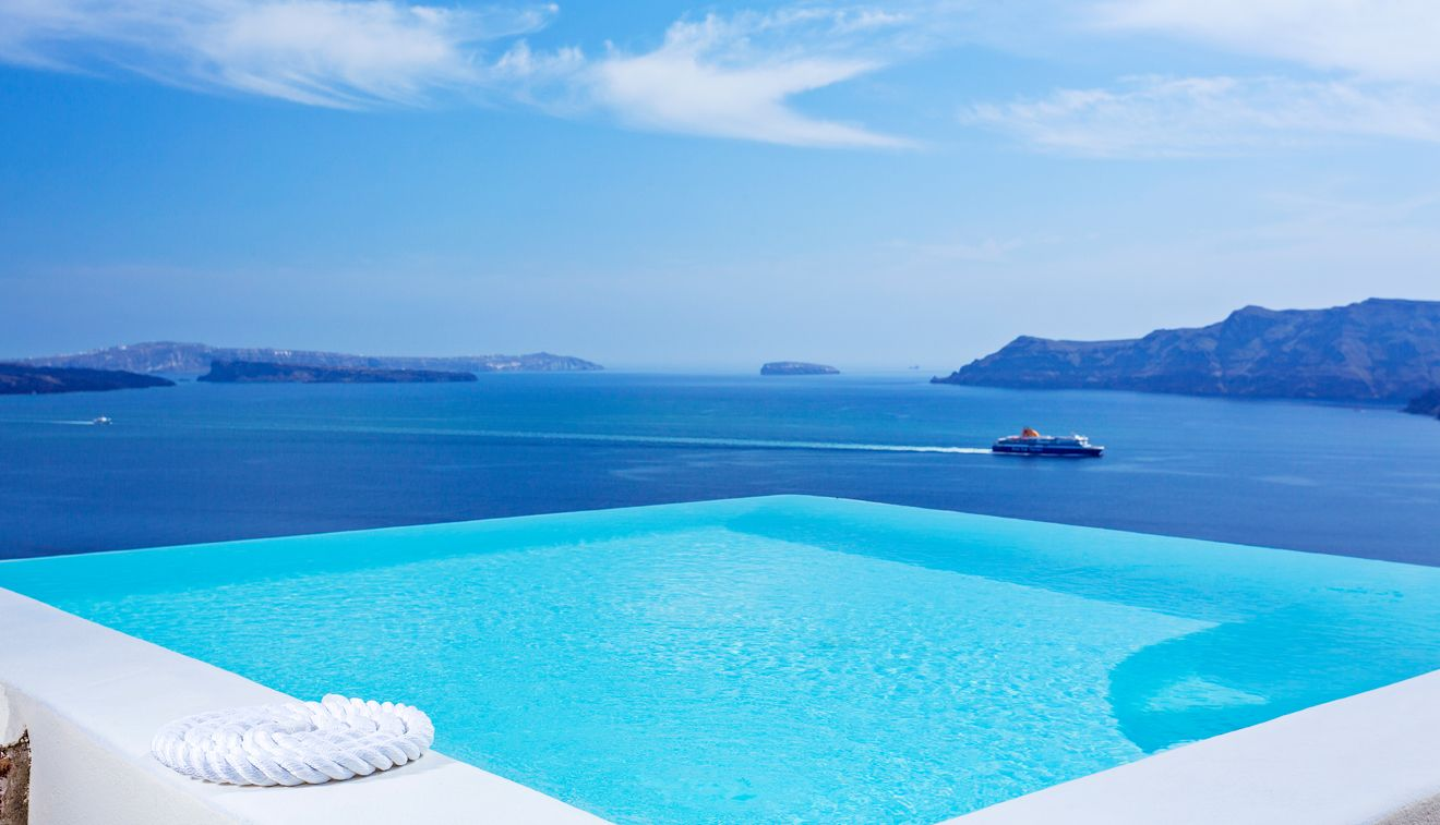 Infinity pool suite canaves oia santorini hotels pinterest - Was ist ein infinity pool ...