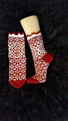 Ravelry: Julefrid socks pattern by JennyPenny