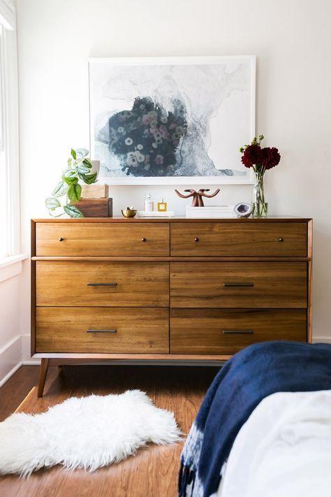 25 Mid Century Bedroom Design Ideas: West Elm Mid Century Dresser