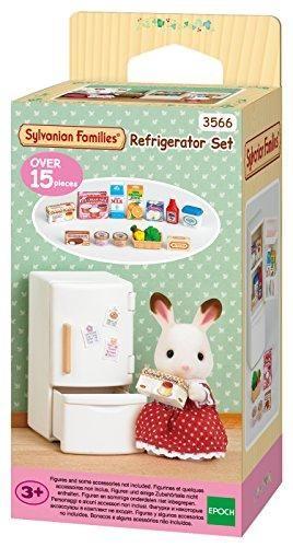 Sylvanian Families refrigerador Set Casa De Muñecas Miniaturas Nuevo