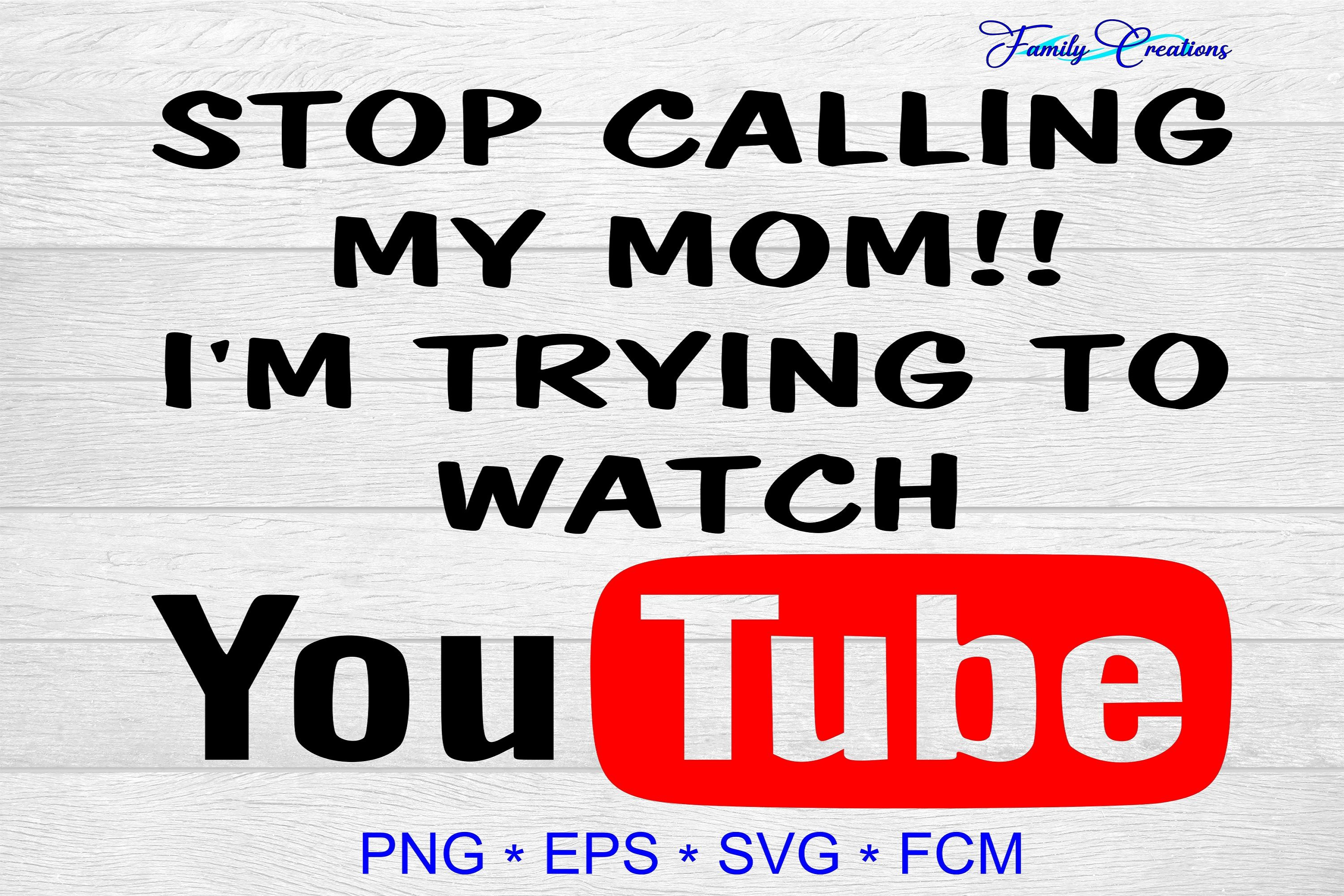 Stop Calling My Mom! I Watching Youtube (Graphic) by
