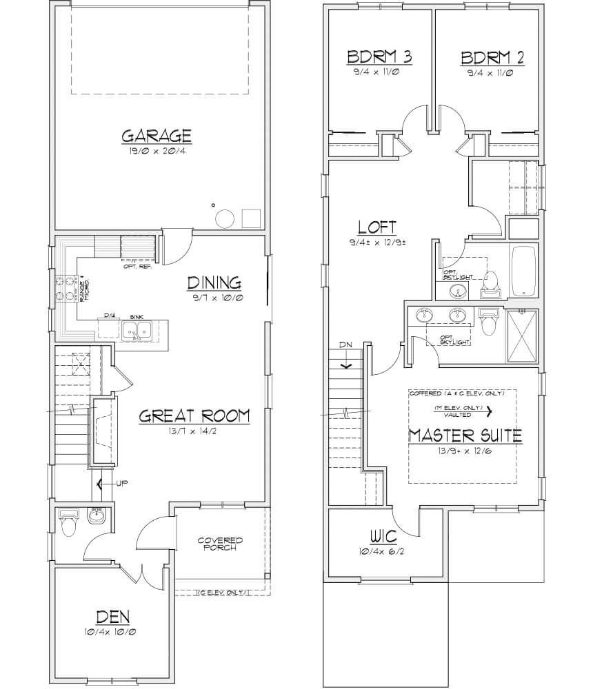 The Colton Floorplan Floor Plans Loft Spaces Colton
