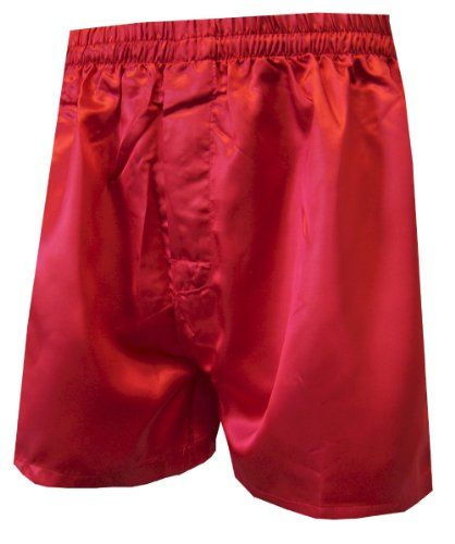 Red Satin Boxers in Small