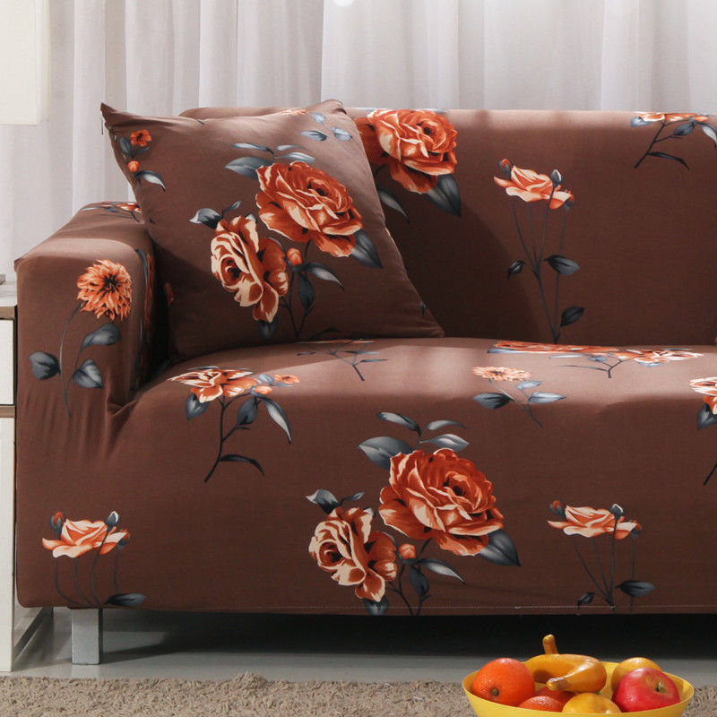 sofa free shipping europe chaise sectional 11 39 polyester spandex slipcovers cover protector for 1 2 3 4 seater tusl jyyd ebay home garden