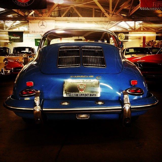 Original Sky Blue Matching Numbers 1965 Porsche 356c
