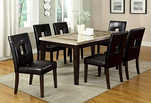 Original Rectangular Dining Table Contemporary Style Farmhouse