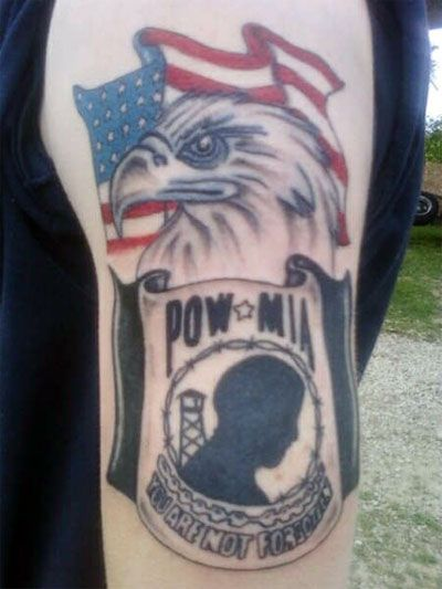 Never Forgotten Tattoos Military Tattoos Shoulder Armor Tattoo