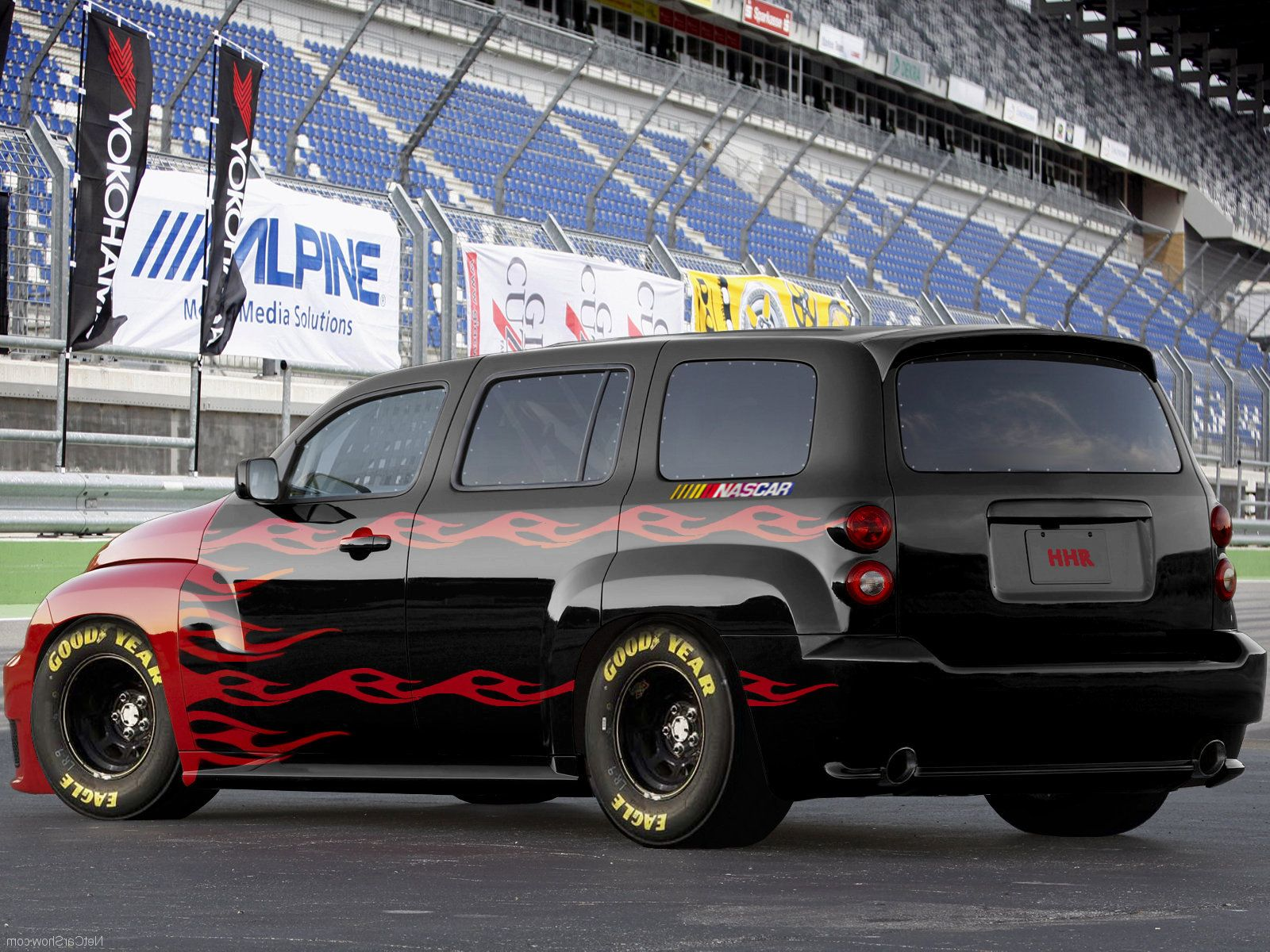 Nice Hhr Would Be Better Minus The Flames Tho Chevy Hhr