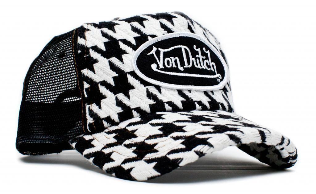 71ac6961 Details about Authentic Brand New Von Dutch WHITE on ROYAL Cap Hat ...