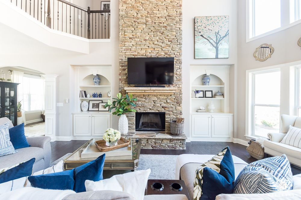 2018 Spring Home Tour Decorating Ideas For Every Room In The House Kelley Nan Living Room Designs Family Room Design Family Room
