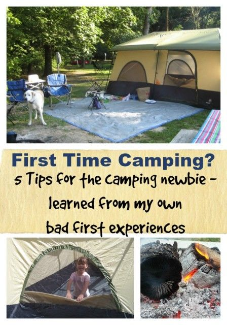 5 Family Camping Tips For New Campers Camping For Beginners Camping Safety Tent Camping