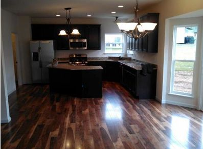 warm kitchen flooring options picked restoration chateau laminate flooring color 7004