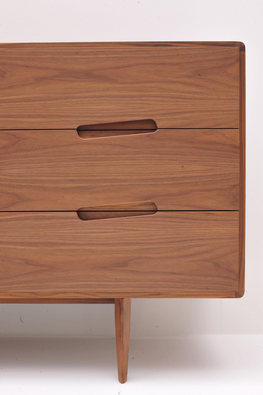 Mobili In Legno Design.Malibu Sideboard With Drawers By Morelato Cnc Nel 2019