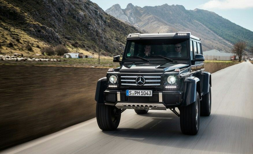 Mercedes g500 4x4 multi purpose vehicle all terrain suv for Mercedes benz 4x4 g class