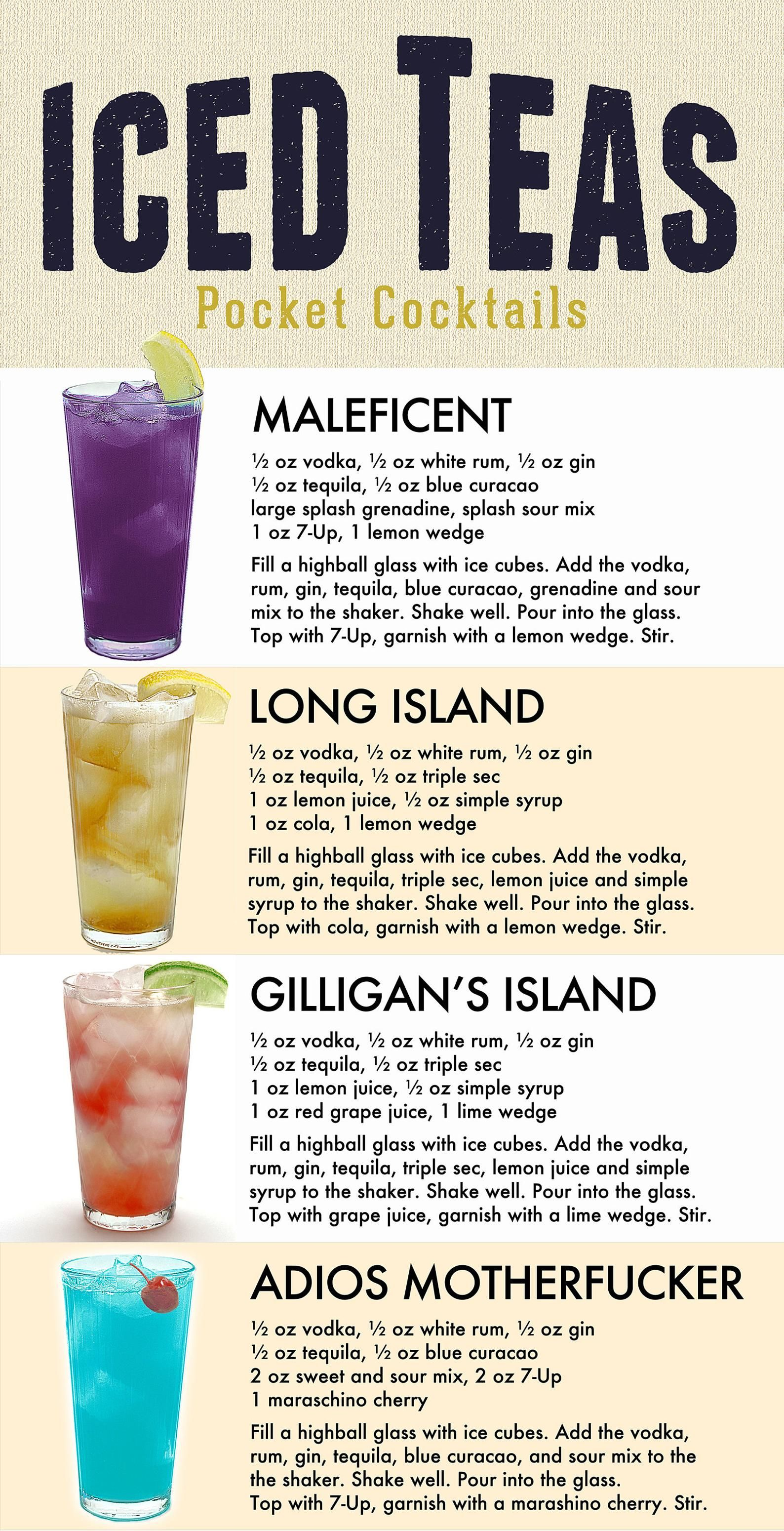 Pocket Cocktails PosterBoard - 24