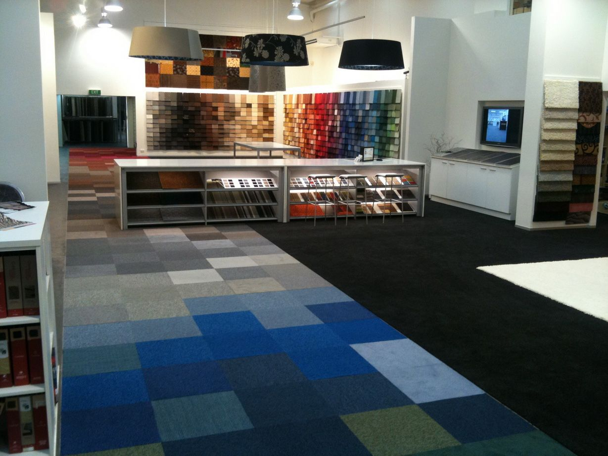 Cozy Carpet Tiles Layout Vangviet Interior Design Idee Bureau Deco Decoration