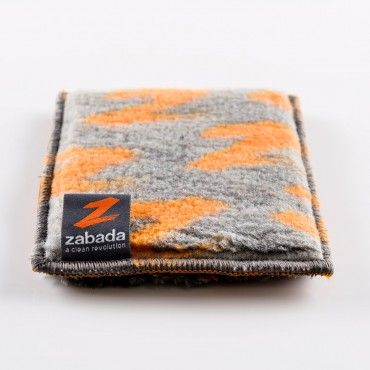 Kitchen Handy:  Cleans cooktops and baking dishes, Spot-cleans dishes, baking trays, pots and pans, Removes grease and baked-on grime with water only. The Kitchen Handy will outperform disposable scourers and store-bought microfiber cloths. Use in conjunction with the Kitchen Glove and Marvel. Find it at https://www.zabadaclean.com/kitchen-care/kitchen-handy.html