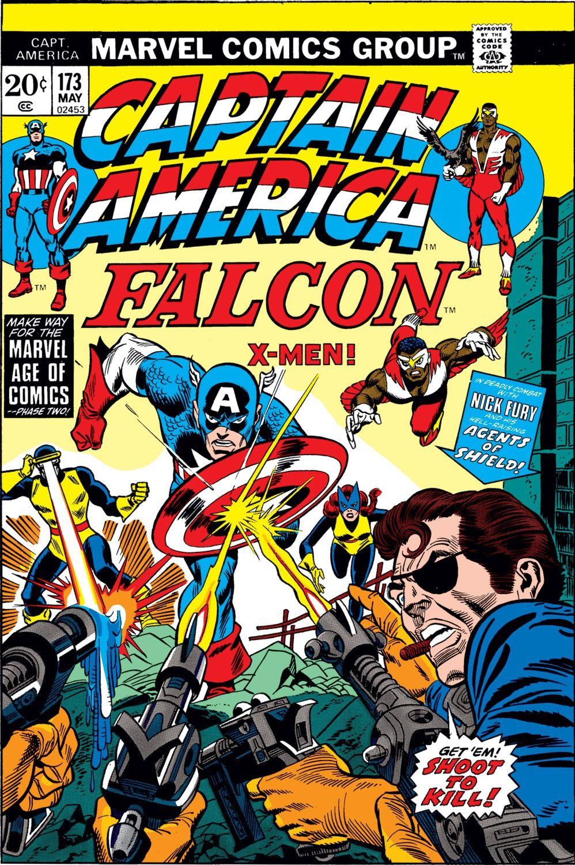 captain america (1968) issue #173 - read captain america