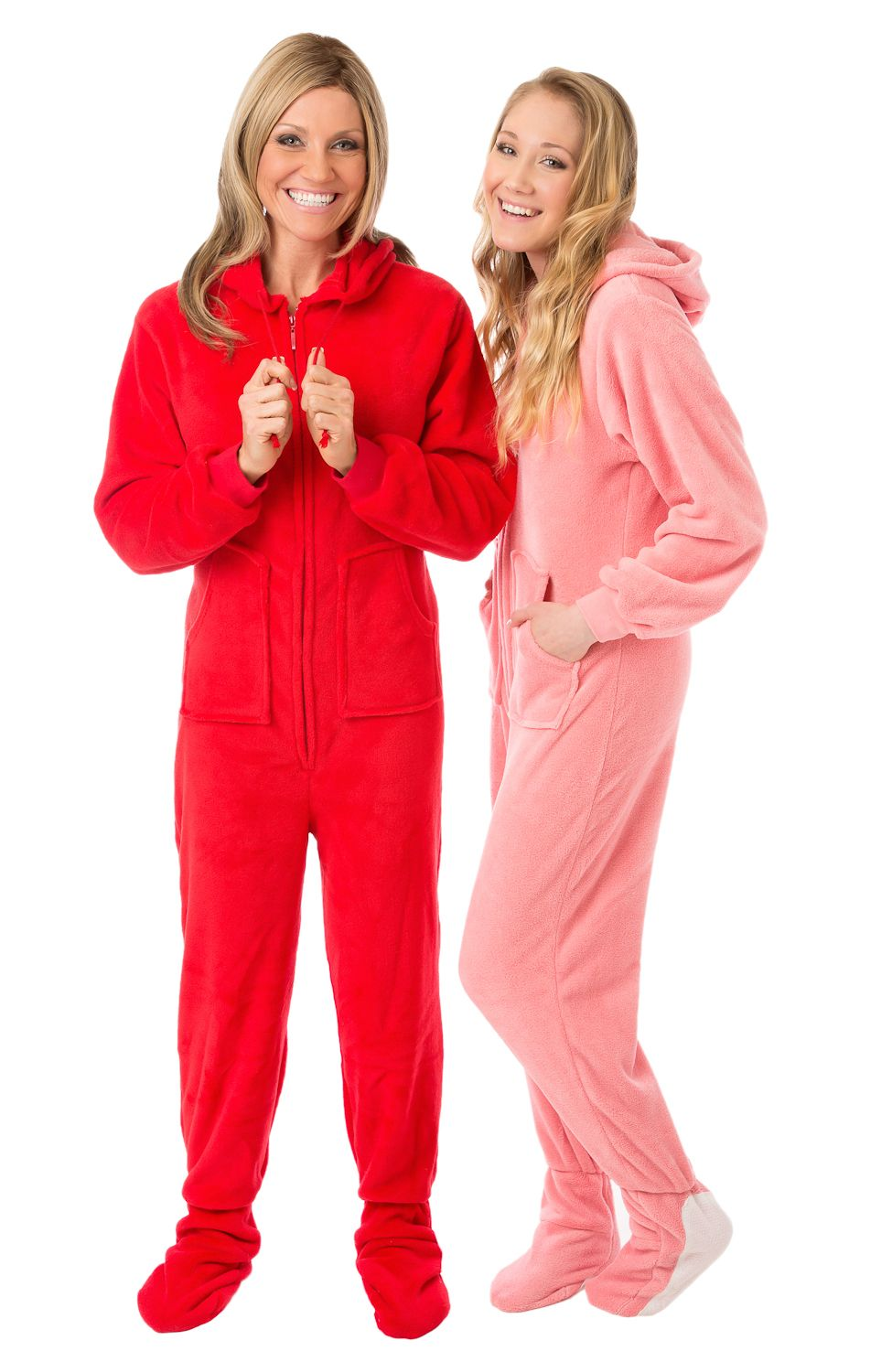 Highest quality plush loungewear or sleepwear. These plush hoodie footed  pajamas are so comfy d4d7dfd3f