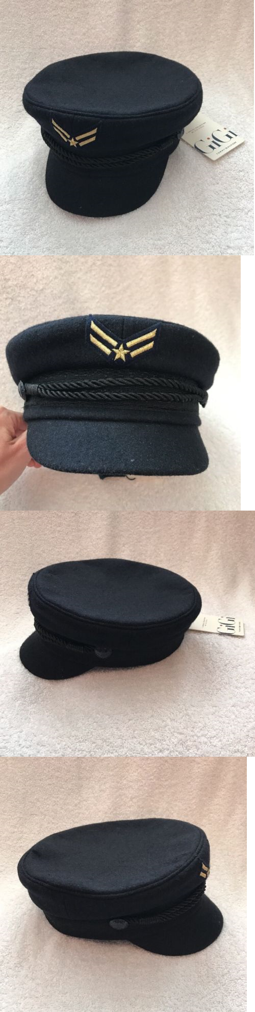 d12bfbc6 Hats 45230: Nwt Tommy Hilfiger X Gigi Hadid Navy Blue Wool Sailor Hat Cap  Size S M -> BUY IT NOW ONLY: $69.99 on eBay!
