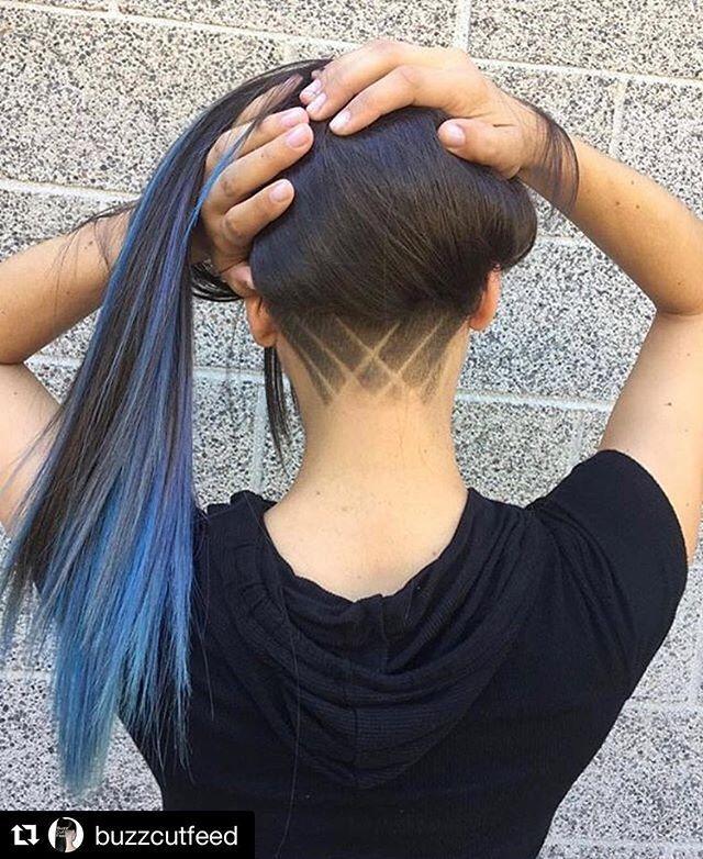 Nape Undercut Designs For Women Undercut Hairstyles Shaved Hair Designs Nape Undercut Designs
