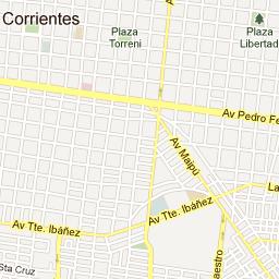 El Mapa De Mi Ciudad D Corrientes Capital Argentina World - Mapa florida usa