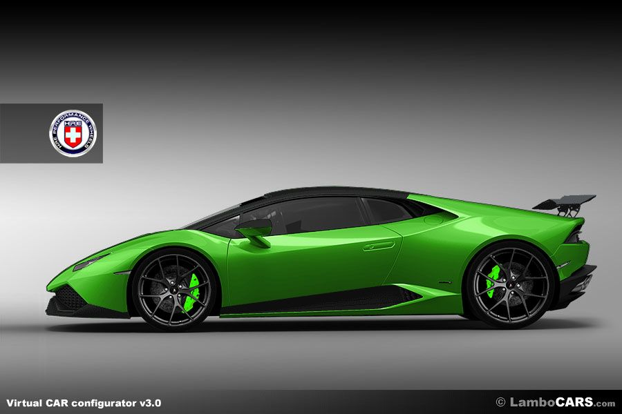 Stunning HRE P101 Wheels On The New Lamborghini Huracan Finished In Verde  Ithaca.