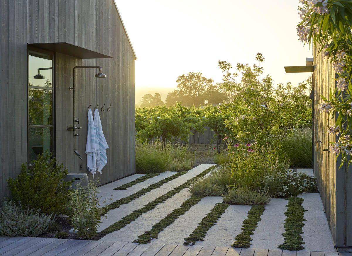 Zinfandel Lane Garden St Helena California Usa Landscape Design Backyard Landscaping Modern Garden Design Backyard garden in usa