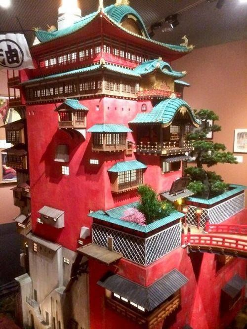 Spirited Away Model Studio Ghibli Studio Ghibli Movies Ghibli Museum