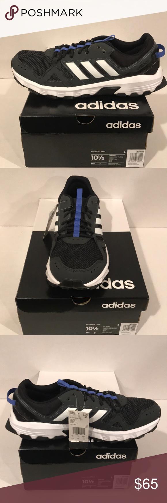 80d697df3876f adidas Running Rockadia Trail Men s Running Shoes adidas Running Rockadia  Trail Men s Running Shoes Carbon Footwear White Hi-Res Blue B15 adidas Shoes  ...