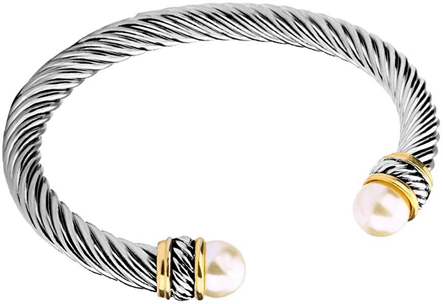David Yurman Cultured Pearl Bracelet Dupe