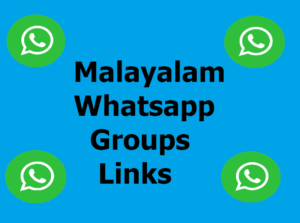 Malayalam Whatsapp Groups – Join Free Malayalam Whatsapp