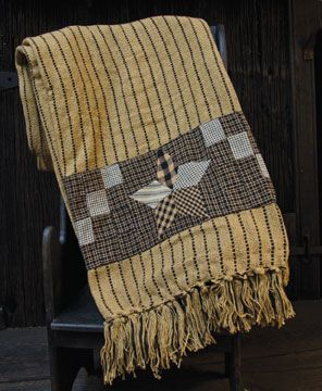 Stay warm this fall with our cozy country throws! Now 20% off!