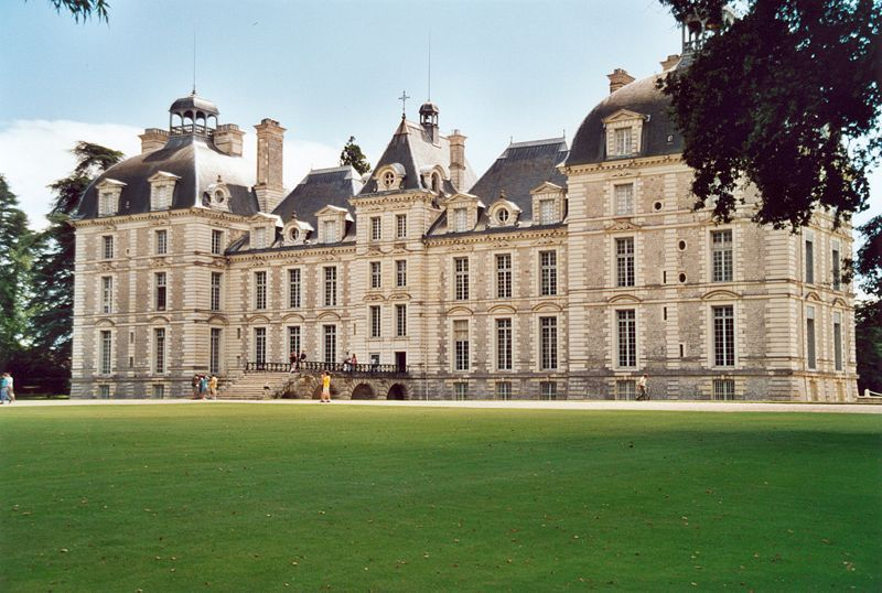 Château de Cheverny / Côté parc.