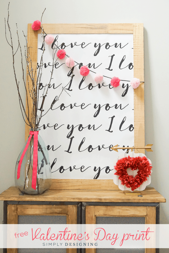 I Love You Printable : perfect print for Valentine's Day | Simply Designing with Ashley -  I Love You Printable : perfect print for Valentine's Day  - #Ashley #day #Designing #Love #perfect #print #printable #Simply #valentines #ValentinesDayart #ValentinesDaycards #ValentinesDaycrafts #ValentinesDaydecorations #ValentinesDayfood #ValentinesDayforkids #ValentinesDaygiftsforhim #ValentinesDayideas #ValentinesDaymanualidades #ValentinesDayoutfit #ValentinesDayphotography #ValentinesDayquotes