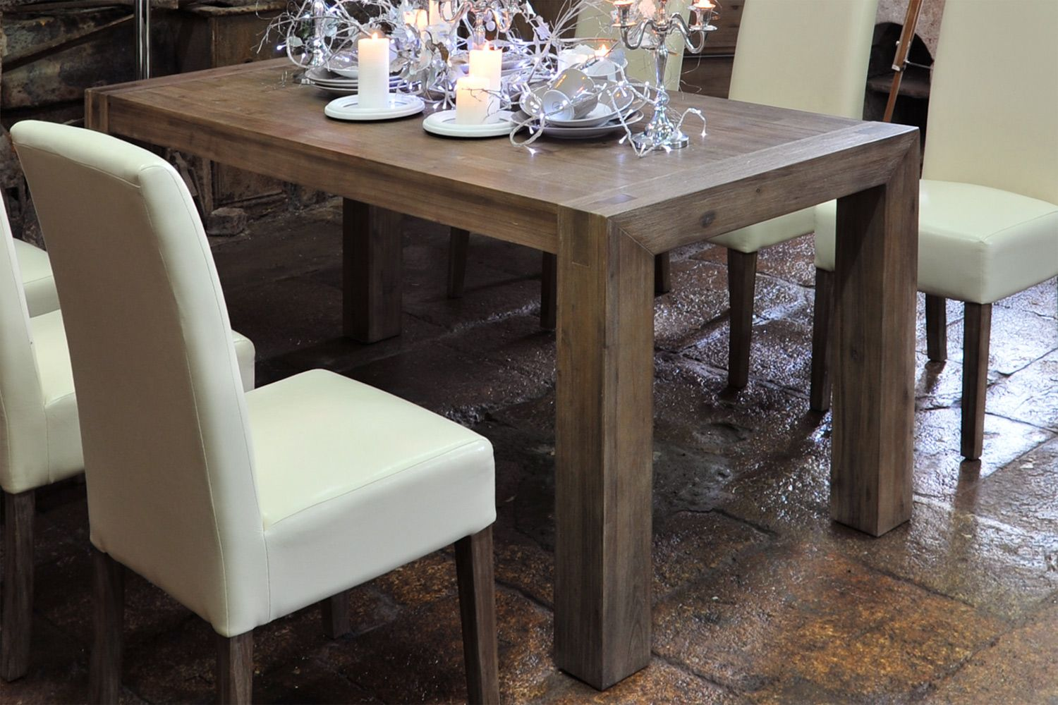 Hamburg Dining Table 180 X 90cm From Harvey Norman Ireland Dining Table Dining Furniture Rustic Dining Table