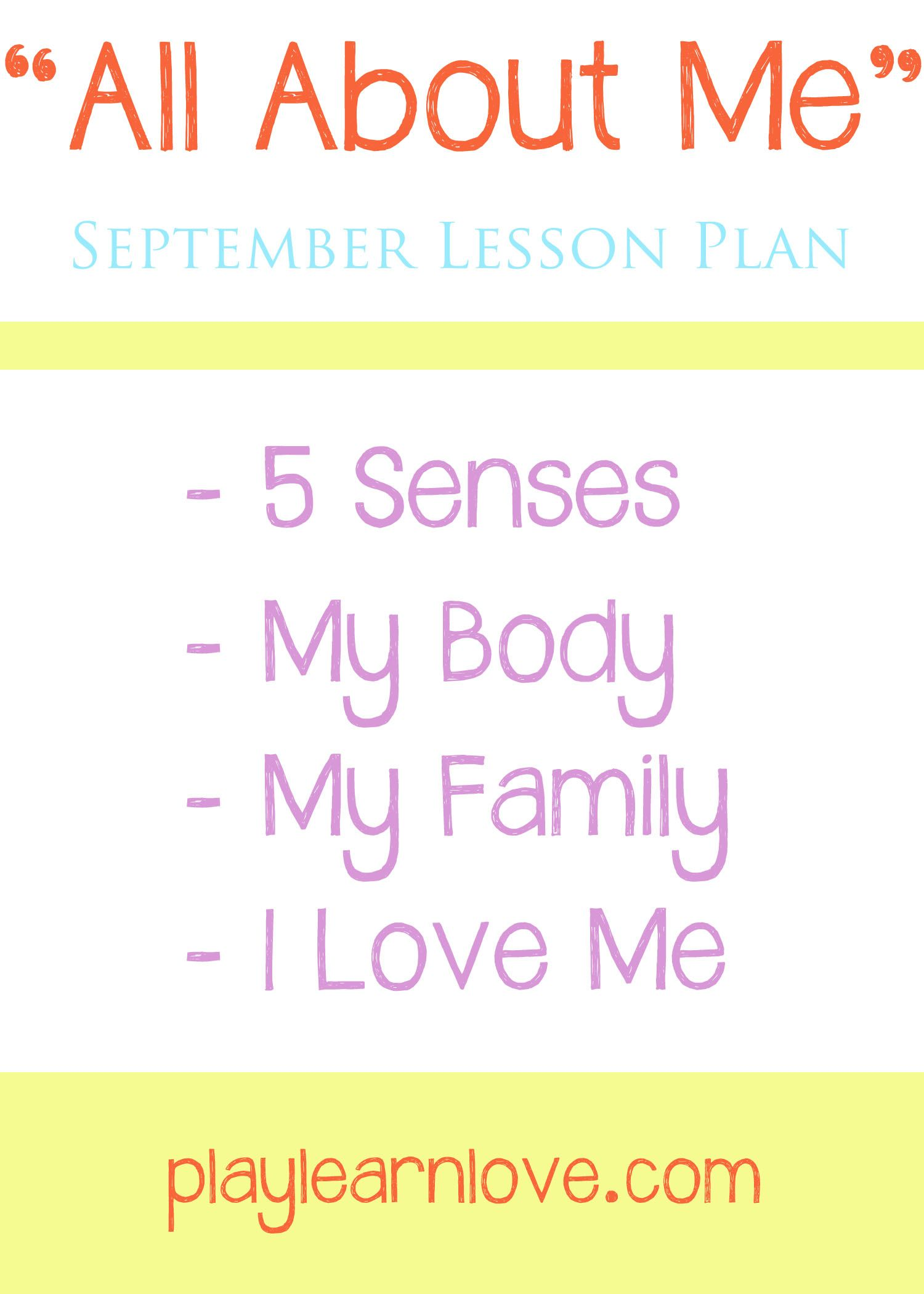 This Month Long All About Me Unit Is Full Of Fun Learning