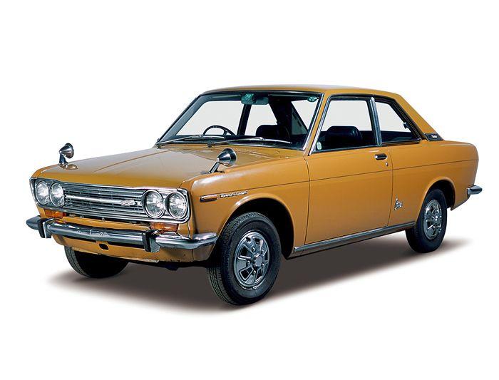 Datsun Bluebird 1600SSS Coupe(1969: KP510)