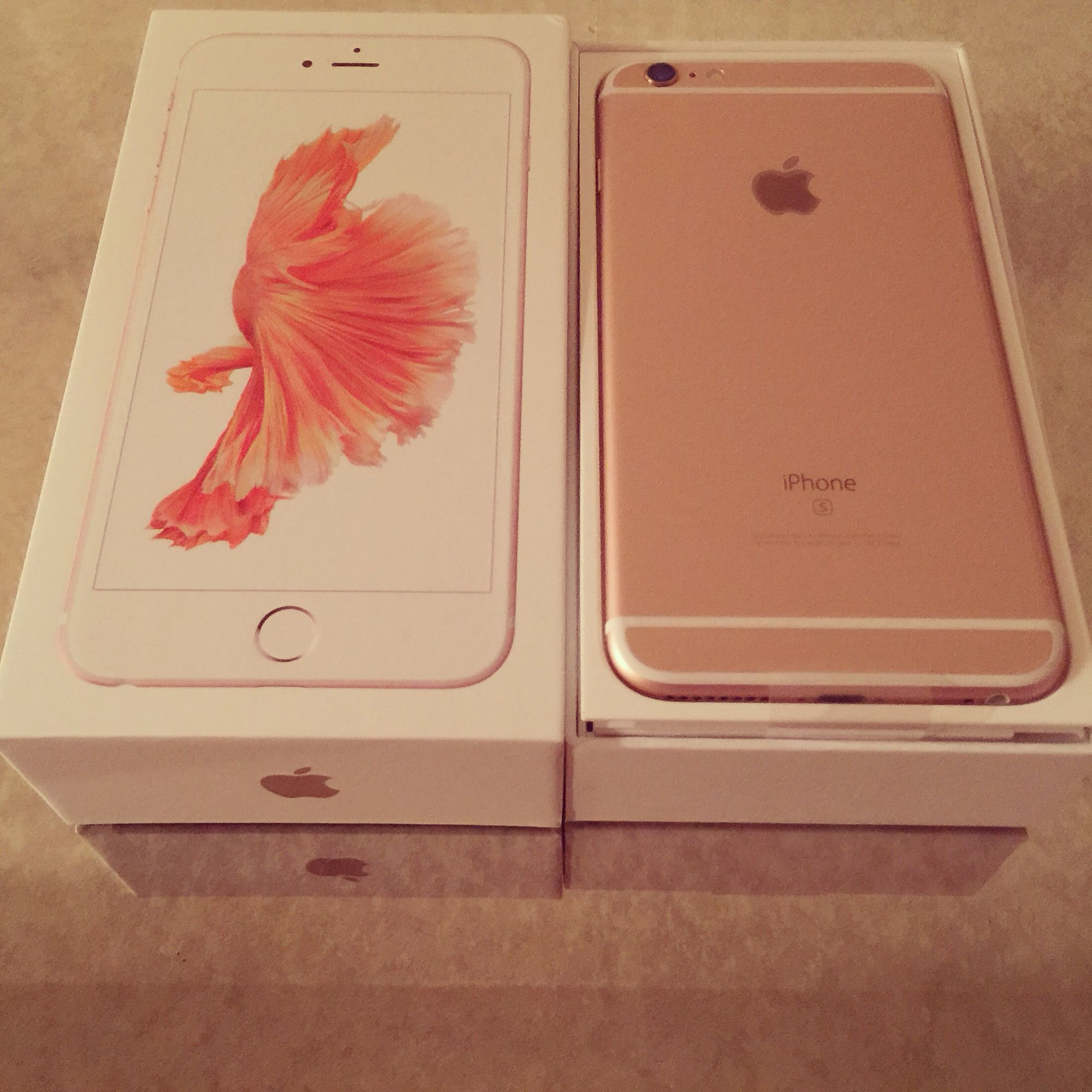 New Rose Gold iPhone 6s Plus 128GB | Iphone | Pinterest | iPhone 6, Roses and Gold