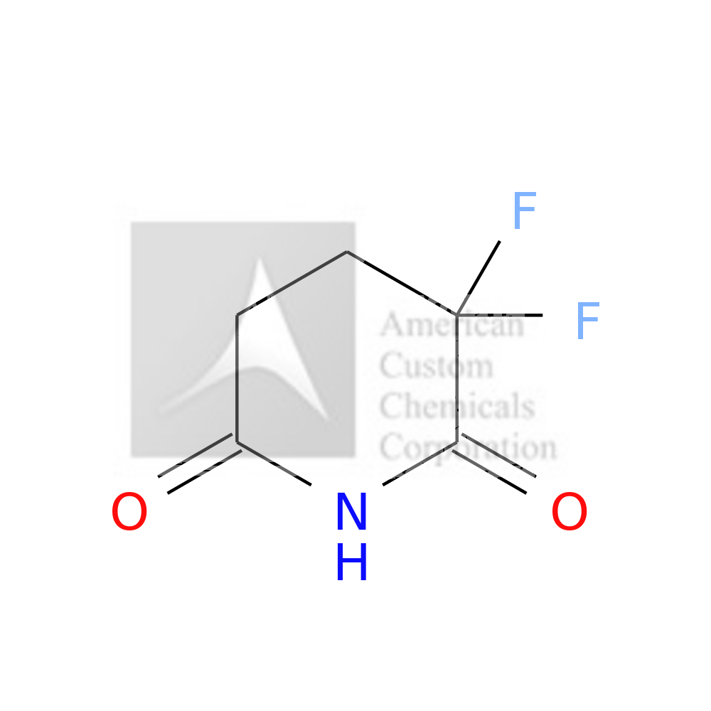 3,3-DIFLUOROPIPERIDINE-2,6-DIONE is now  available at ACC Corporation