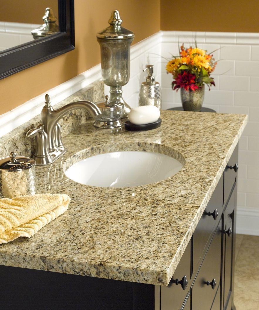 Bainbrook Brown Bathroom Vanitytops Brown Granite Bath Tops From