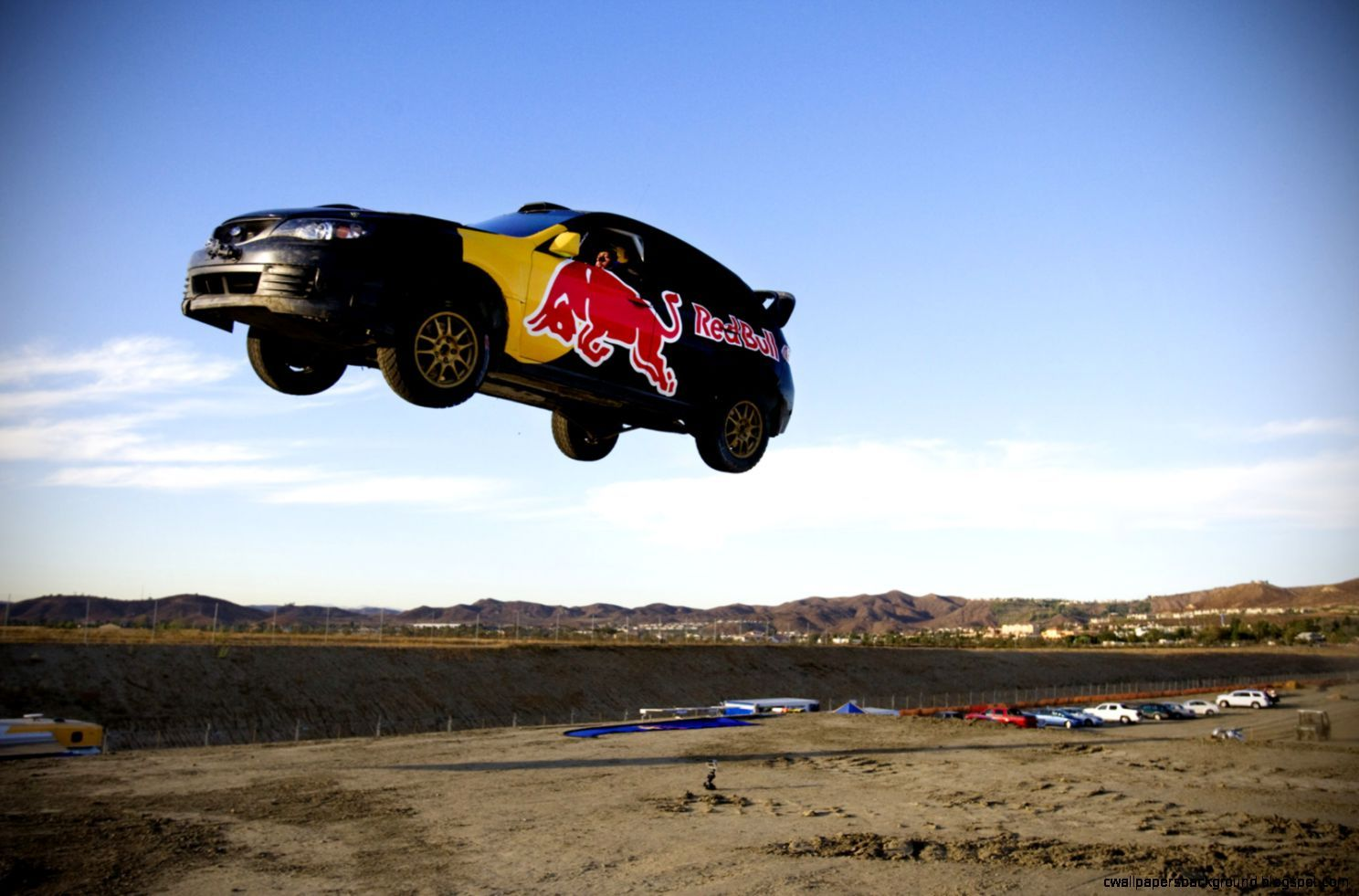 Travis Pastrana Rally Car Jump | Wallpapers Background