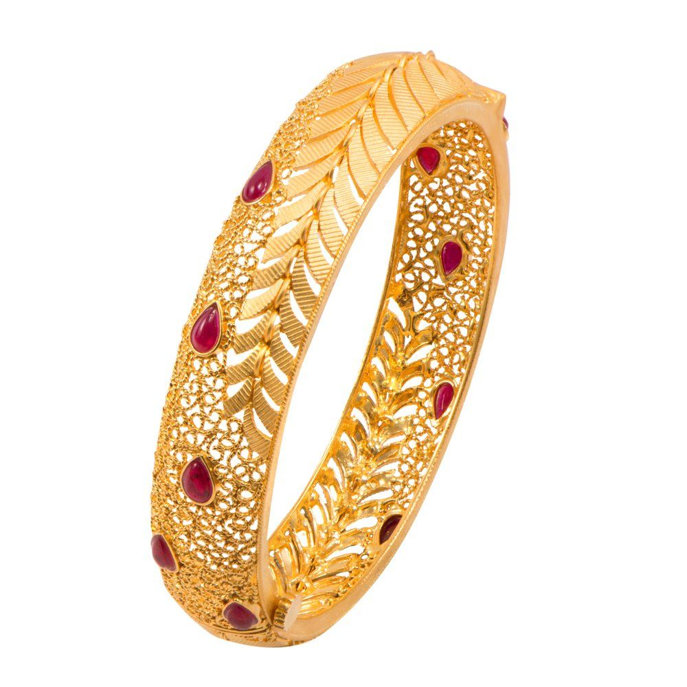 Buy joyalukkas impress collection k yellow gold bangle online at