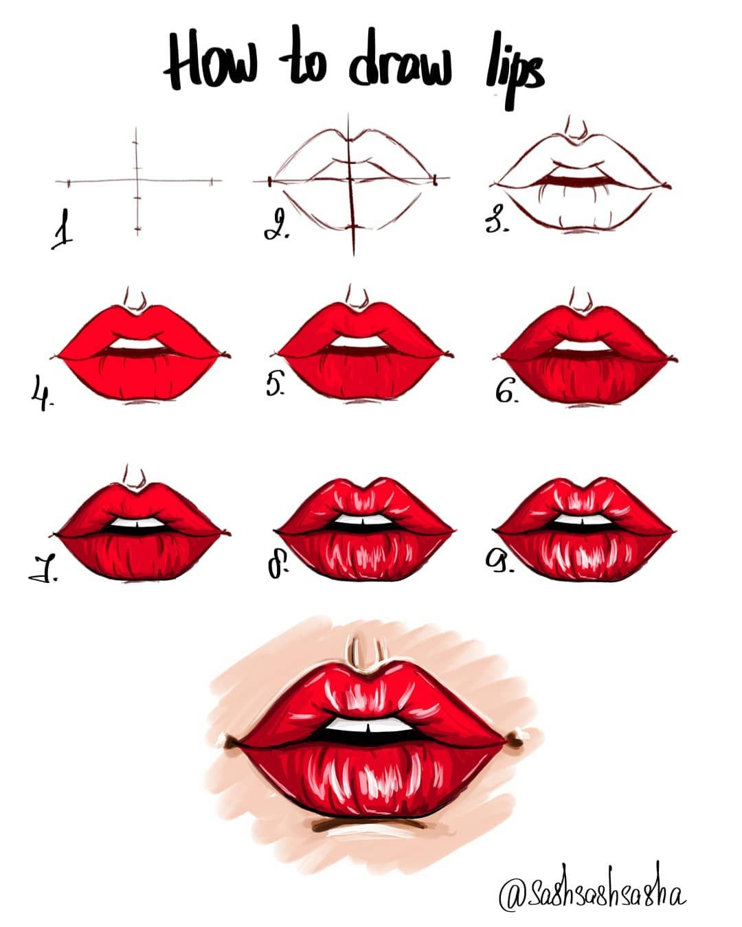 34 7k Followers 34 Following 20 7k Posts See Instagram Photos And Videos From Artist International Artist Lips Drawing Lip Drawing Art Drawings Beautiful